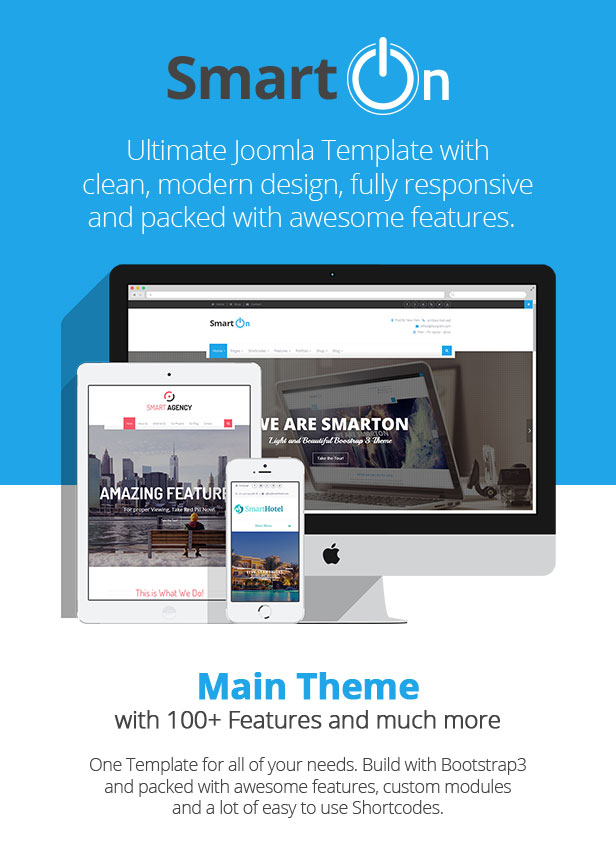 SmartOn - Multi-Purpose Ultimate Joomla Theme