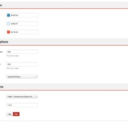 02 General Options Of The Joomla Accordion Module