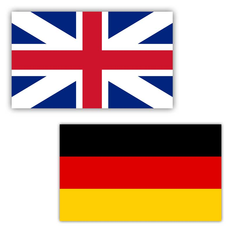English and German Language